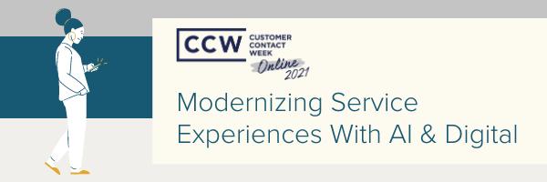 Modernizing Service Experience with AI & Digital