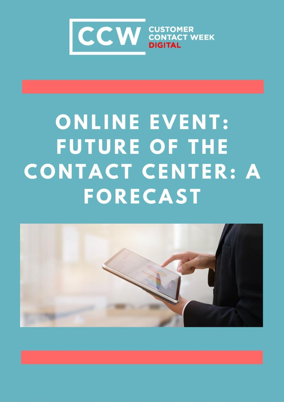 CCW Vegas - Market Research Contact Center 2025 - A Roadmap