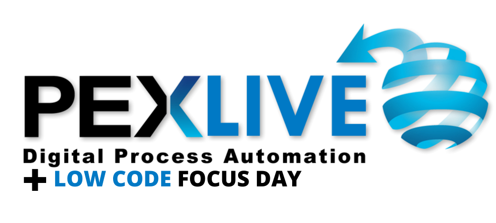 PEX Live: Digital Process Automation & Low Code Development 2021