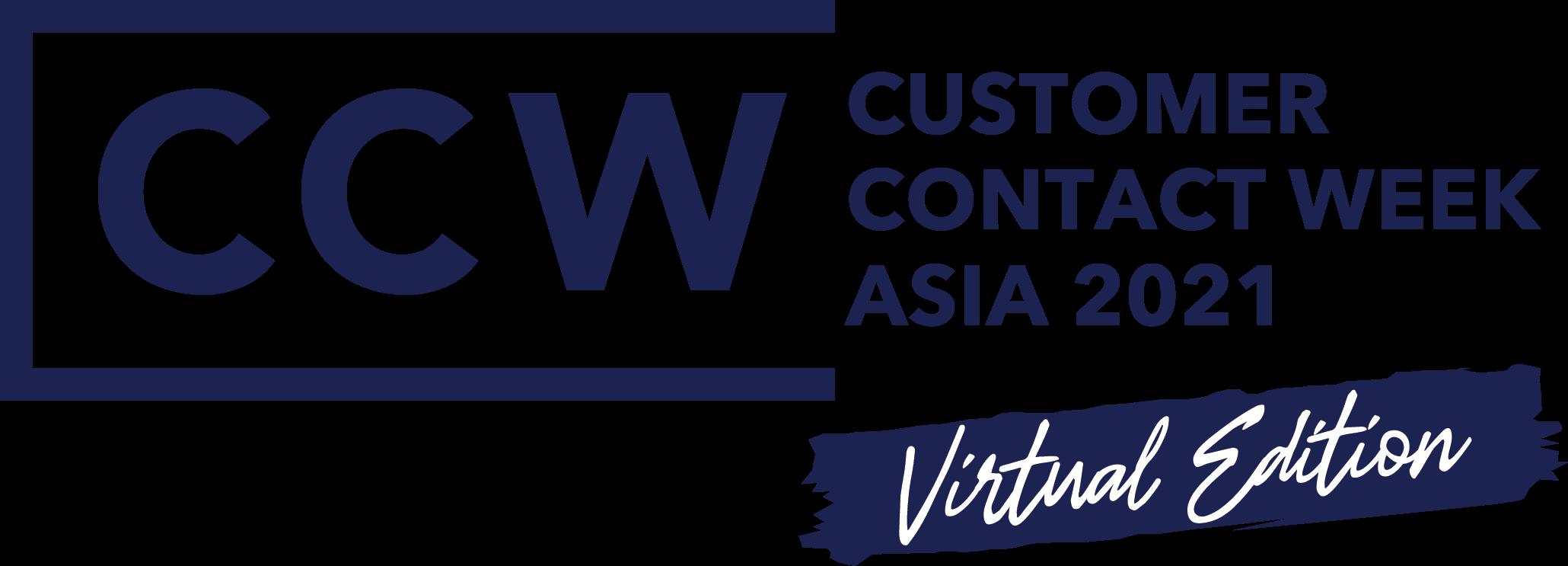 Customer Contact Week Asia 2021 – Virtual Edition