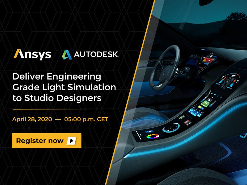 Webinar: Deliver Engineering Grade Light Simulation to Studio Designers