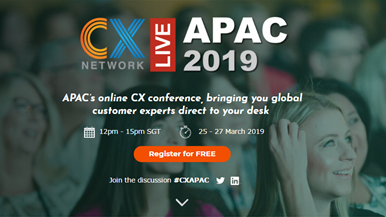 CX Network Live: APAC 2019