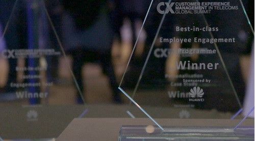 Image of customer experience management awards