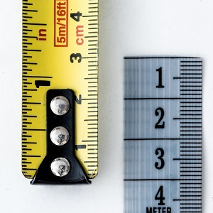 Tape measure metal rule