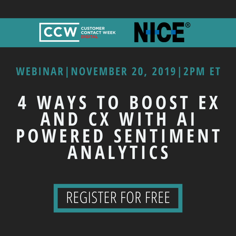 4 Ways to boost EX and CX with AI Powered Sentiment Analytics