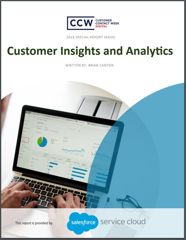 Special Report: Customer Insights and Analytics