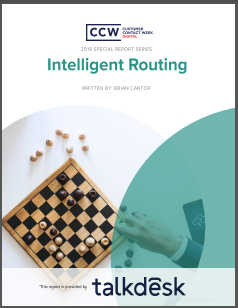 Special Report: Intelligent Routing