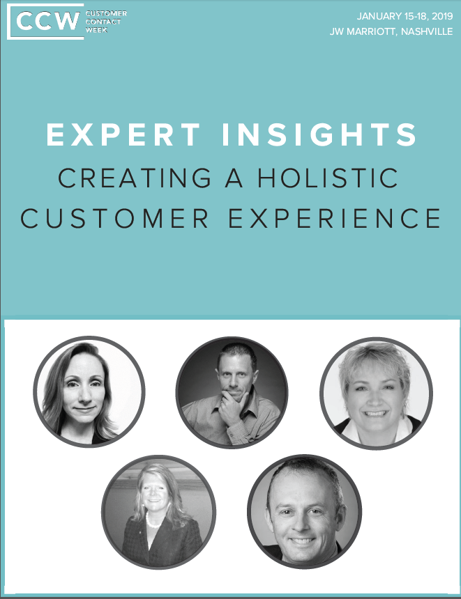Creating a holistic customer experience