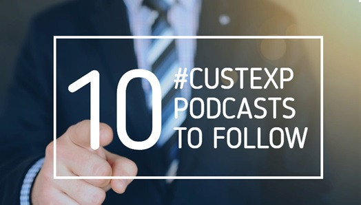 Image of customer experience podcasts to follow