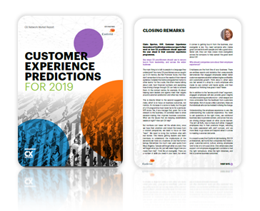 customer experience trends 2019 cx network
