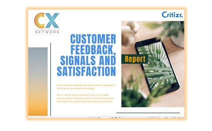 image of customer feedback and satisfaction report