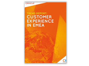 Image of report on customer experience management and market segmentation for Europe, middle-east, Africa, customer experience