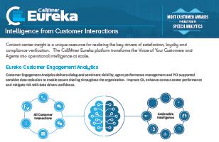 Eureka datasheet CX Network Callminer
