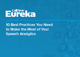 Image of speech analytics, voice of the customer ebook on CX network