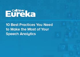 Image of speech analytics, voice of the customer ebook on CX network