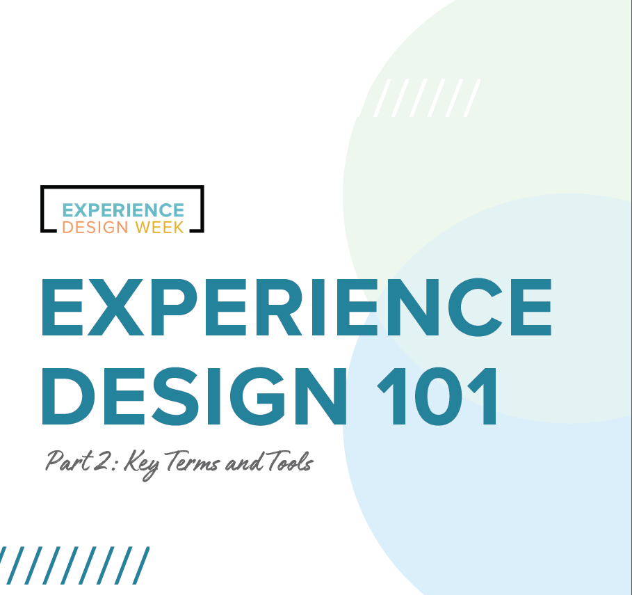 What is experience design