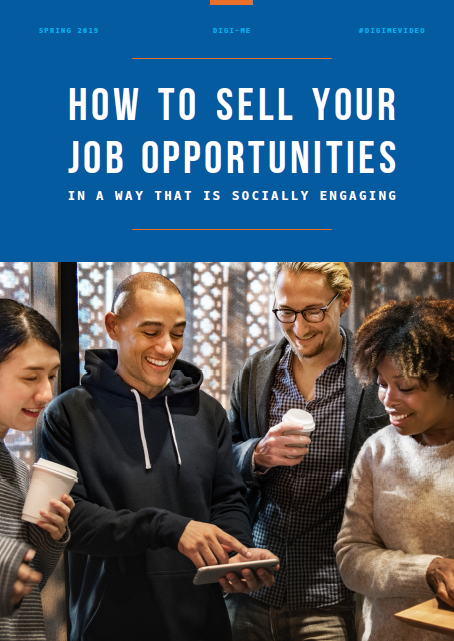 how to sell your job opportunities in a way that is socially engaging
