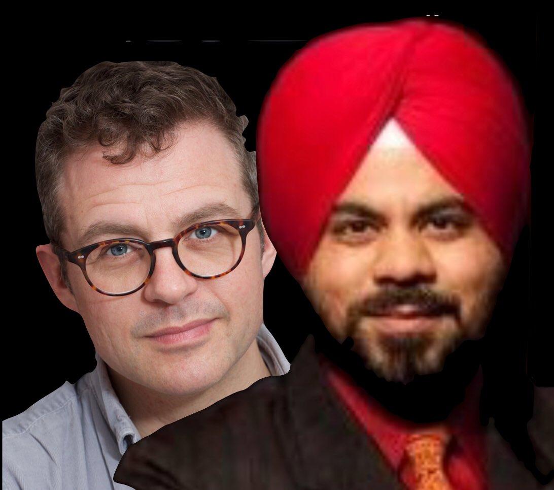 Roop Singh & Ian Hawkins