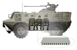 Enhancing Vehicle Survivability with Engineered Blast Mats