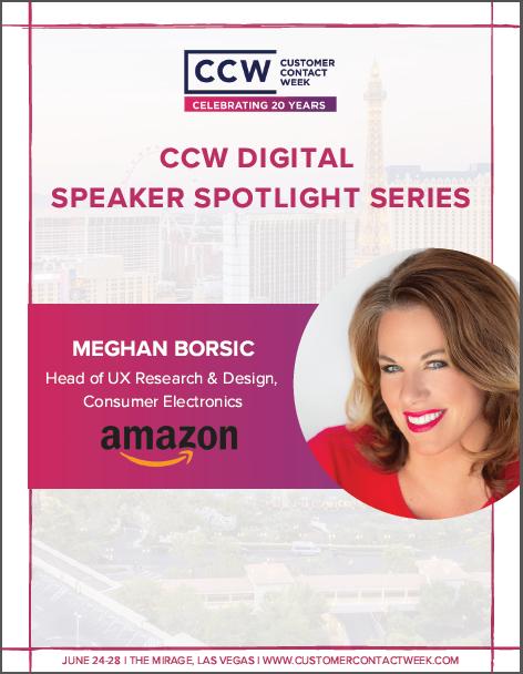CCW Digital Speaker Spotlight Series: Amazon's Meghan Borsic