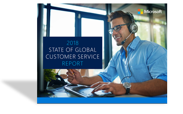 Microsoft customer service report