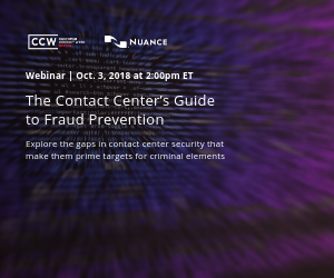 The Contact Center's Guide to Fraud Prevention