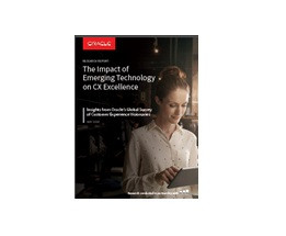 image of oracles customer experience management technology report