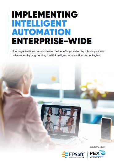 Implementing intelligent automation enterprise-wide report