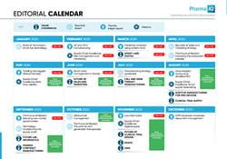 Pharma IQ Editorial Calendar