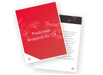 Predictive analytics in customer engagement strategies Ebook from Cloud cherry