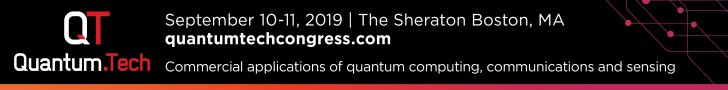 The global business conference & exhibition for commercial applications of Quantum technology