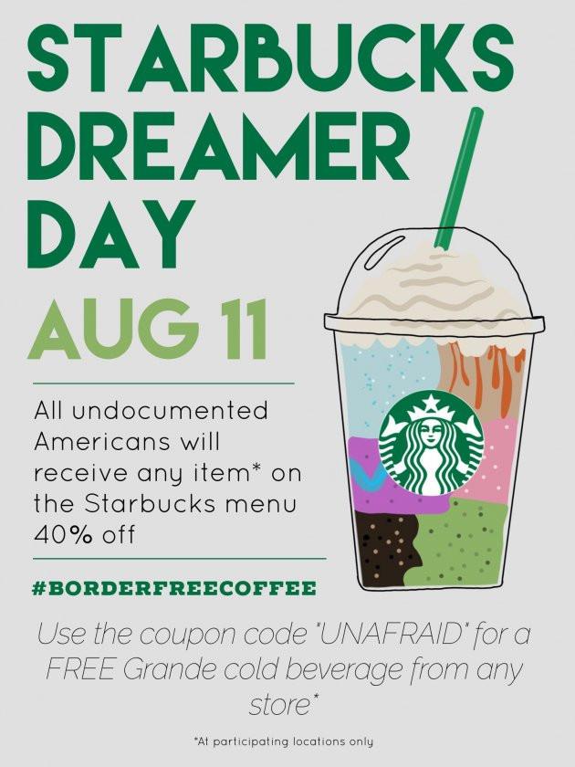 Starbucks campaign
