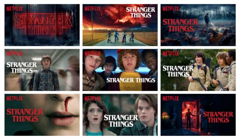 Netflix personalization