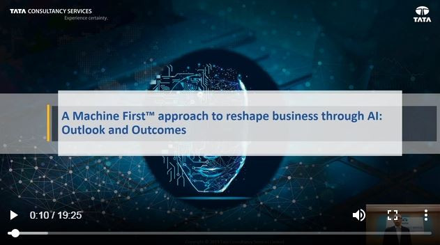A Machine First™ Approach To Reshape Business Through AI: Outlook And Outcomes
