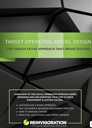 Target Operating Model cover display