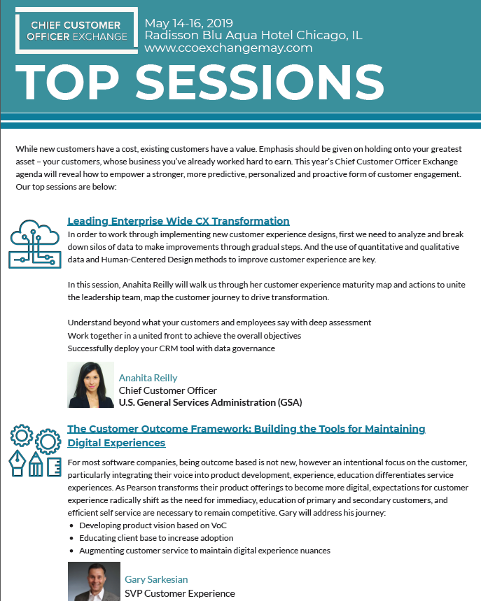 CX Transformation and More: Don't Miss These Sessions at the