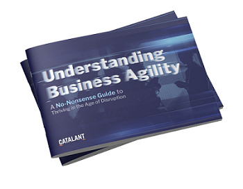 Understanding business agility ebook cover