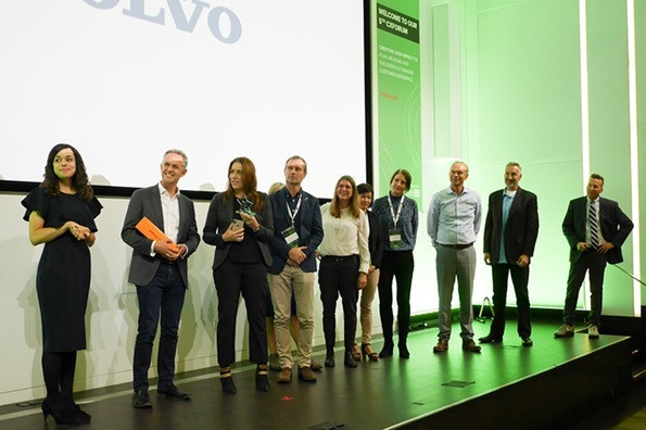 Volvo customer experience award