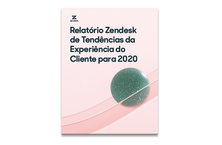 image of zendesk report in portugese
