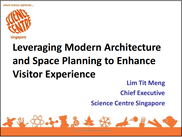 Read the Past Presentation - Leveraging Modern Architecture and Space Planning to Enhance Visitor Experience