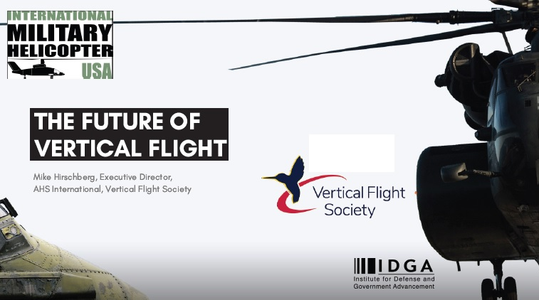 The Vertical Flight Society on the Future of Vertical Flight