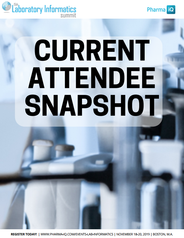 Lab Informatics - Current Attendee Snapshot