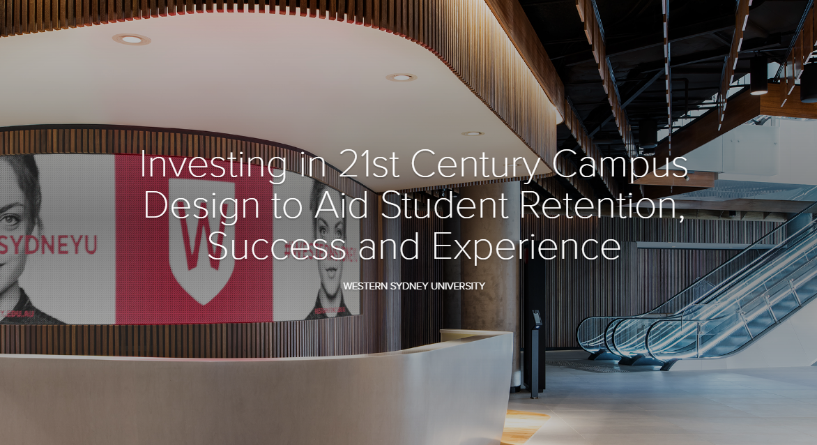 Investing in 21st Century Campus Design to Aid Student Retention, Success and Experience