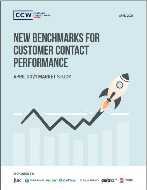 April Market Study: New Benchmarks For Customer Contact Performance