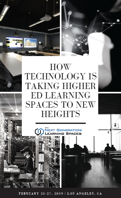 How Technology is Taking Higher Ed Learning Spaces to New Heights