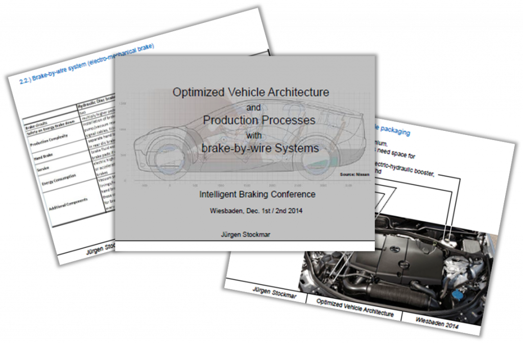 Nissan Presentation: Optimized vehicle architecture with brake-by-wire