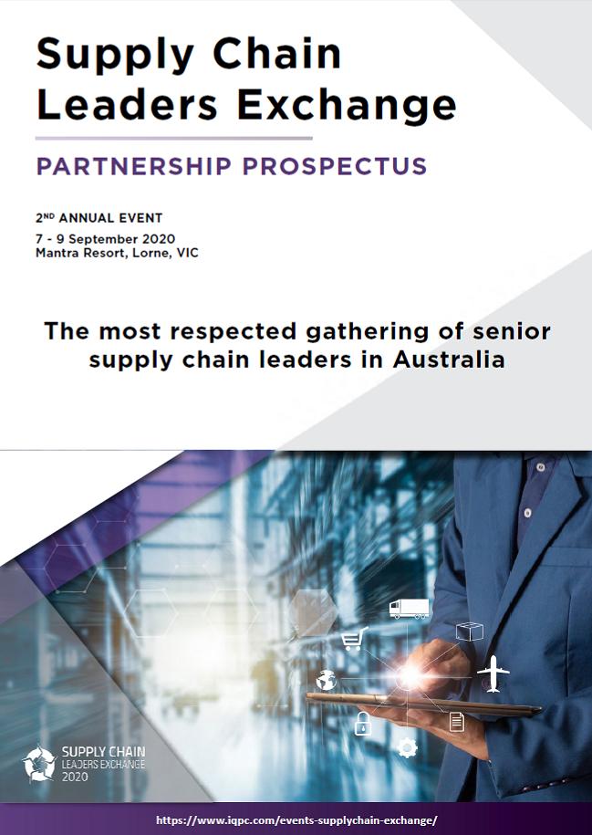 Supply Chain Leaders Exchange 2020  - Partnership Prospectus