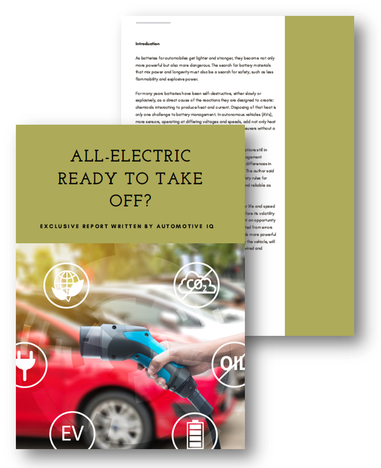 All-electric ready to take off?