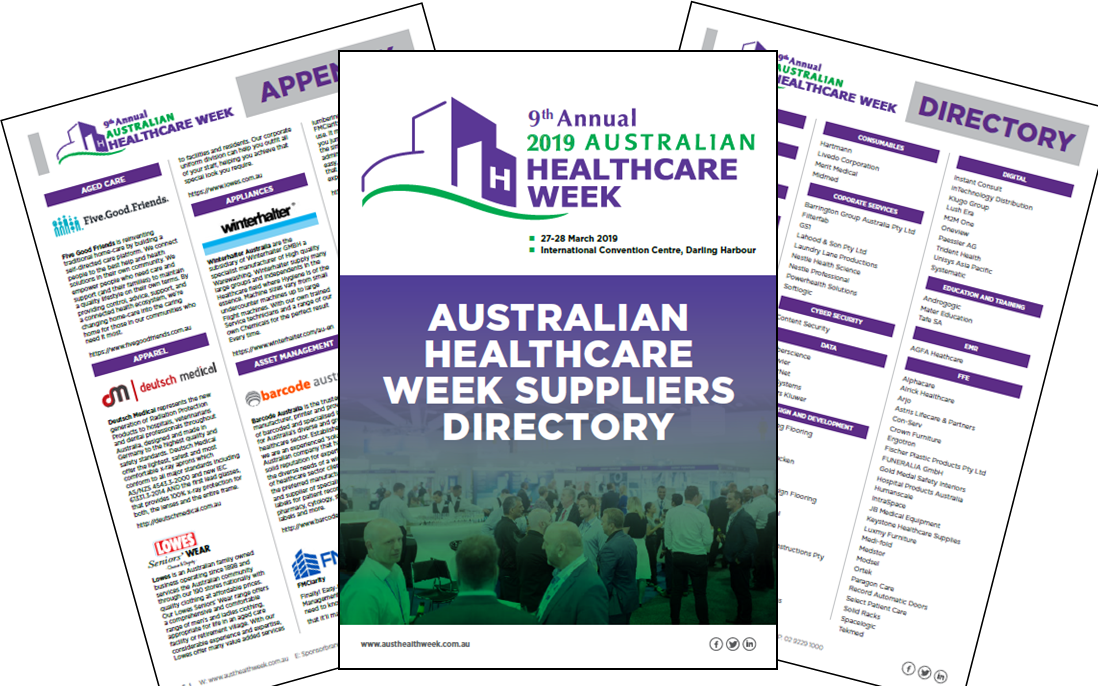 Australian Healthcare Week Suppliers Directory