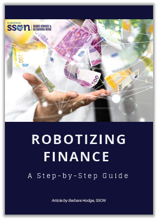 A step-by-step guide on robotizing finance in SSC